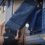 House removal - sofa