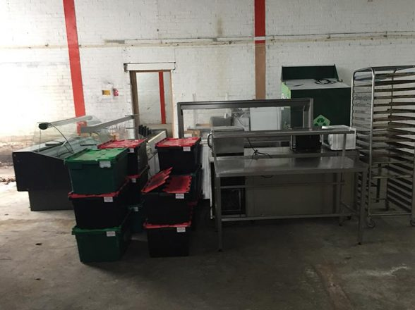 Commercial Kitchen Removal