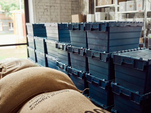 Lidded Storage Crate Hire